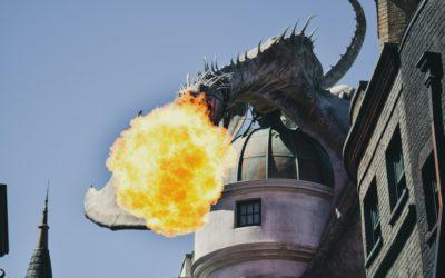 Yelling at the dragon